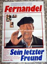 FERNANDEL * SEIN LETZTER FREUND - A1-Kinoposter - German 1-Sheet 1971