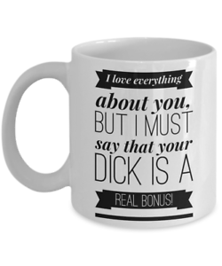 Funny Valentines Day Gifts For Him Husband Boyfriend Anniversary Mug