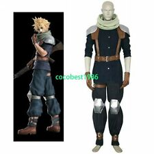 Final Fantasy VII Crisis Core Cloud Strife Halloween Cosplay Costume any size