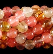 "10mm Watermelon Tourmaline Gems Round loose Bead 15"""