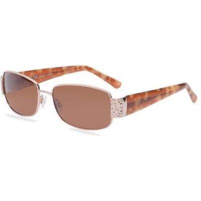 Rx able Sol by Daisy Fuentes Womens Prescription Sunglasses 108 Gold