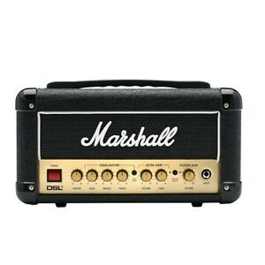 Marshall-DSL1HR-1-Watt-Tube-Guitar-Amplifier-Amp-Head-w-Footswitch-amp-FX-Loop