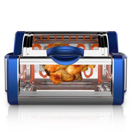 Nutrichef pkrtvg numérique 65BL comptoir rougeisserie & Grill Four rougeatif Cuisinière