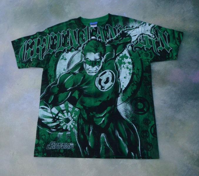 Justice League Grün Lantern Shirt Größe M.
