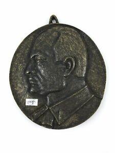 Médaillon En Bronze Personnage Historien Du 1920-1945 De Predappio Iigvitil-08003414-115335688