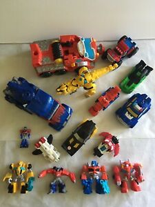 Transformers Lot Of 14. Please See All Pictures Sold As Is