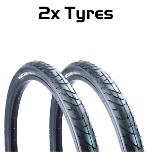 PAIR-of-MTB-Slick-Tires-26-034-x-1-95-034-Vandorm-Wind-195-Mountain-Bike-Tyres-NEW