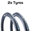 PAIR-of-MTB-Slick-Tires-26-034-x-1-95-034-Vandorm-Wind-195-Mountain-Bike-Tyres-NEW thumbnail 1