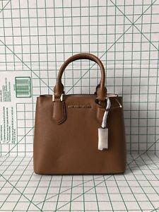 b43b03470a62 Image is loading Michael-Kors-Handbag-Adele-medium-Mercer-Messenger-Pebbled-
