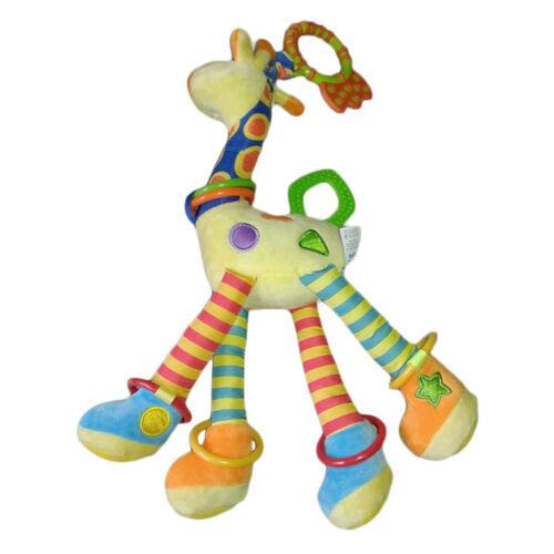 Infant Baby Development Soft Giraffe Tier HandbellsIUattles Griff Spielzeug  js