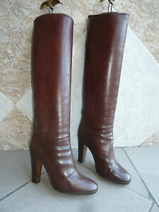 Bottes-Vintage-B-034-Marron-fauve-034-STEPHANE-KELIAN-T-36-5