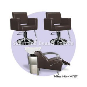 Salon package beauty styling chairs equipment furniture ebay for Beauty spa equipment