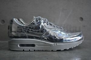 deede344 Nike Air Max 1 SP 'Liquid Silver' - Metallic Silver/Light Bone | eBay