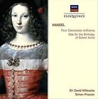 Handel: Four Coronation Anthems; Ode for the Birthday of Queen Anne (CD, Apr-2000, Decca)