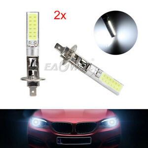 Details about 2Pcs Ultra White H1 LED Headlight High Low Beam Light SMD  Bulbs Vehicle Lamp-US