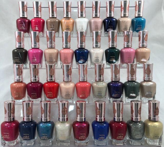 20 Sally Hansen Color Therapy W Argan Oil Formula Nail Polish No Repeats Bulk