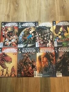 Valiant-Comics-Lot-Archer-And-Armstrong-AND-Eternal-Warrior