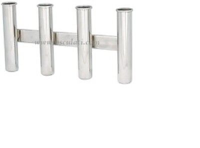 Pair of Stainless Steel Fishing Rod Holders Wall Mounting FISHWM2