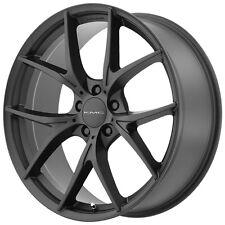 """4-NEW KMC KM694 Wishbone 18x8 5x114.3/5x4.5"""" +35mm Satin Black Wheels Rims"""