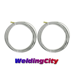 25-ft for Lincoln Magnum 300A-400A and Tweco No.3-No.4 MIG Welding Guns 0.035-0.045 WeldingCity Wire Liner 44-3545-25