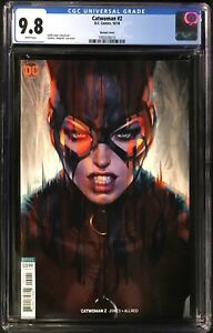 ARTGERM VARIANT COVER CATWOMAN #2 CGC 9.8