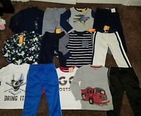 Size 4t 4 Lot Of Winter Clothes Outfits Fleece Fire Truck Boys Gymboree