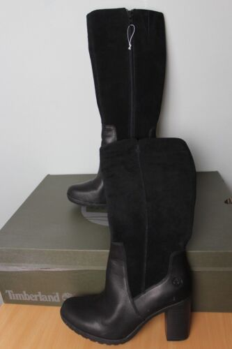 Linwood 37 Suede Timberland Eu Block Tall Leather Boots 4 Heel Uk Womens Genuine E4w6q7Z4