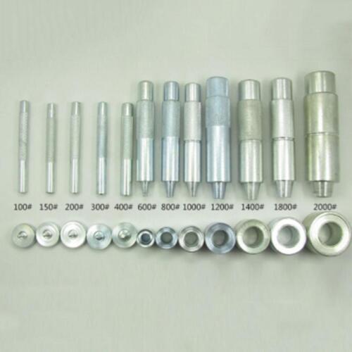 3.5-20mm conjunto de herramientas de ojal punch die para Leather Craft ropa Ojal Banner