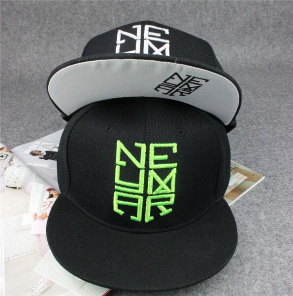 82492b3c New R-design Neymar Style Snapback Hip-hop Brim Baseball Cap Cotton Hats  Unisex