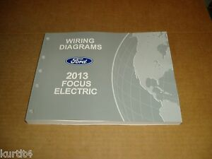 2013 Ford Focus Electric WIRING DIAGRAM service shop ...