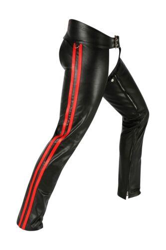 Leder leather Nappaleder Chaps Lederhose lederhose Trousers Lederchaps Awanstar fxqCwBB