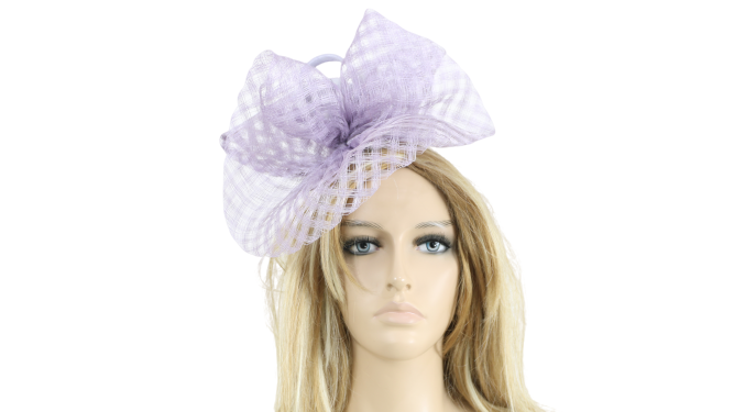 John Charles 26602 H48 Mother of the Bride Bridal Wedding Formal Small Lilac Hat