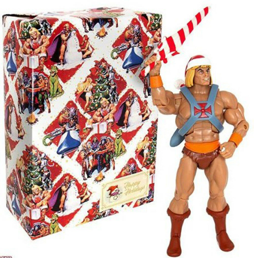 Super 7 IN HAND HE-MAN NIB Limited Edition Christmas Exclusive CLUB GrisSKULL