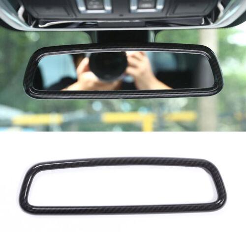Kohlefaser-Stil Rückansicht Spiegel Rahmen Für Range Rover Evoque Sport