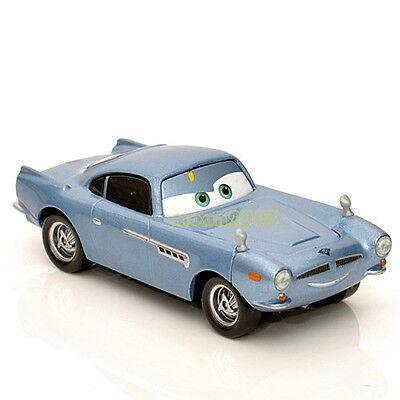 Original 1:55 Disney Pixar Cars 2 Diecast Finn Mc Missile Car Child Toy Gift