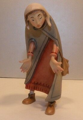 NEW Mary, Kastlunger 8 cm, wood figurines Lepi, Italy