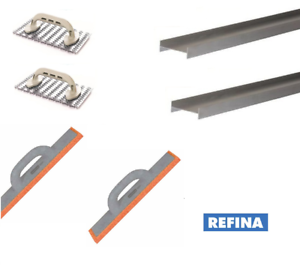 Details about Plastering Rendering Scraping Tools K-Rend Scrapers Sponges  I-Bars 6 Piece
