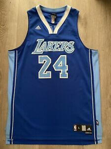 Adidas Kobe Bryant Jersey Blue #24 Size Large Excellent Condition ...