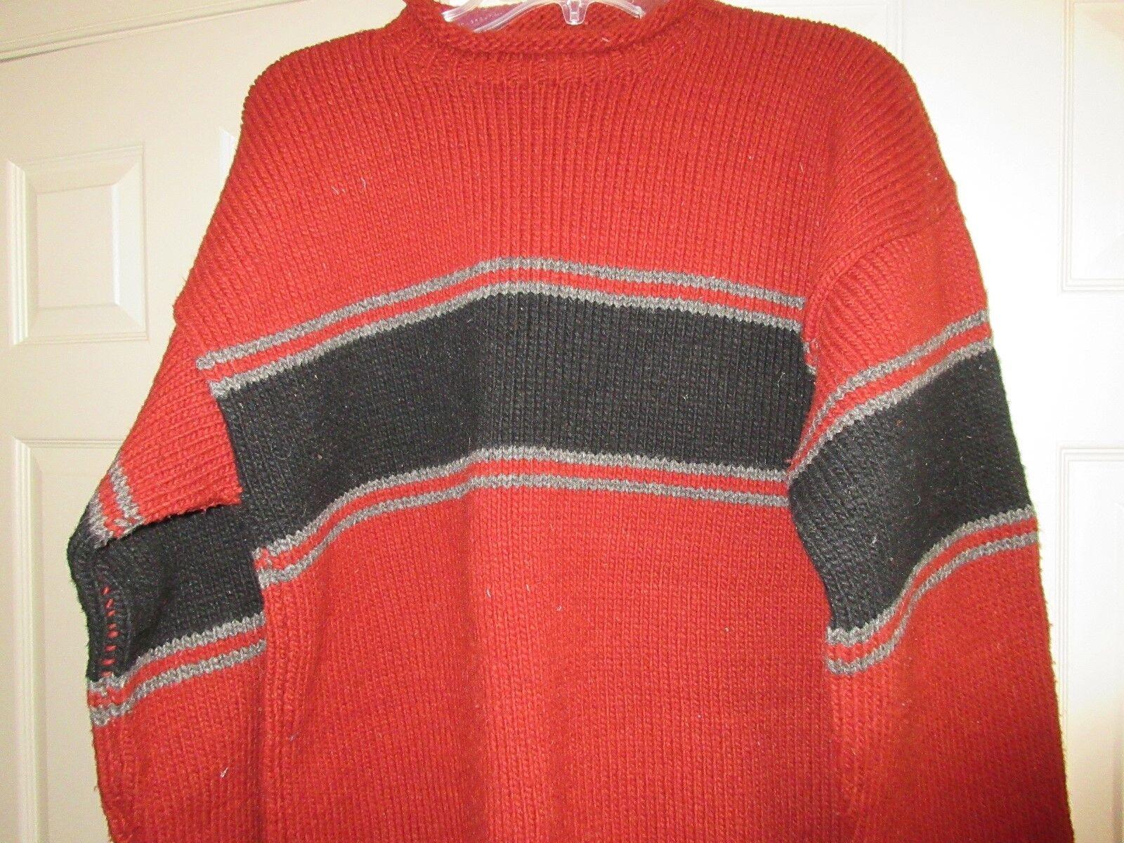 C.C.H. Imports , Men's Sweater , 100% Virgen Wool , XL