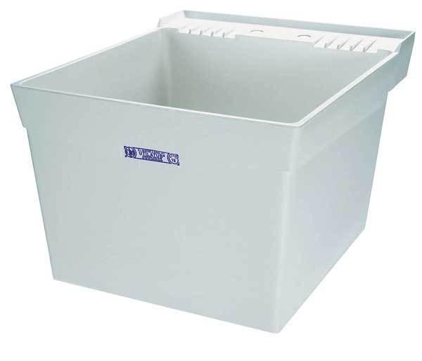 Mustee 19w Utilatub Laundry Tub Wall Mount 24in X 20in White | eBay