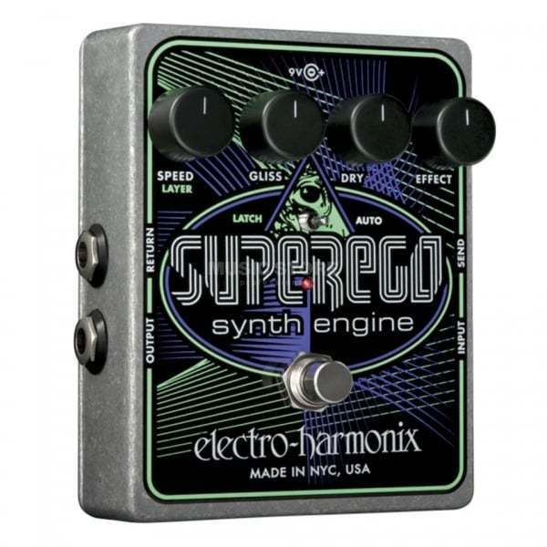 Electro Harmonix Superego Synth Engine Engine Engine Effects Pedal for Guitar 8a8f2d