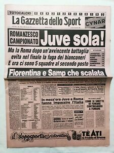 GAZZETTA-DELLO-SPORT-5-12-1983-LAZIO-FIORENTINA-1-2-VERONA-MILAN-JUVENTUS-ASCOLI