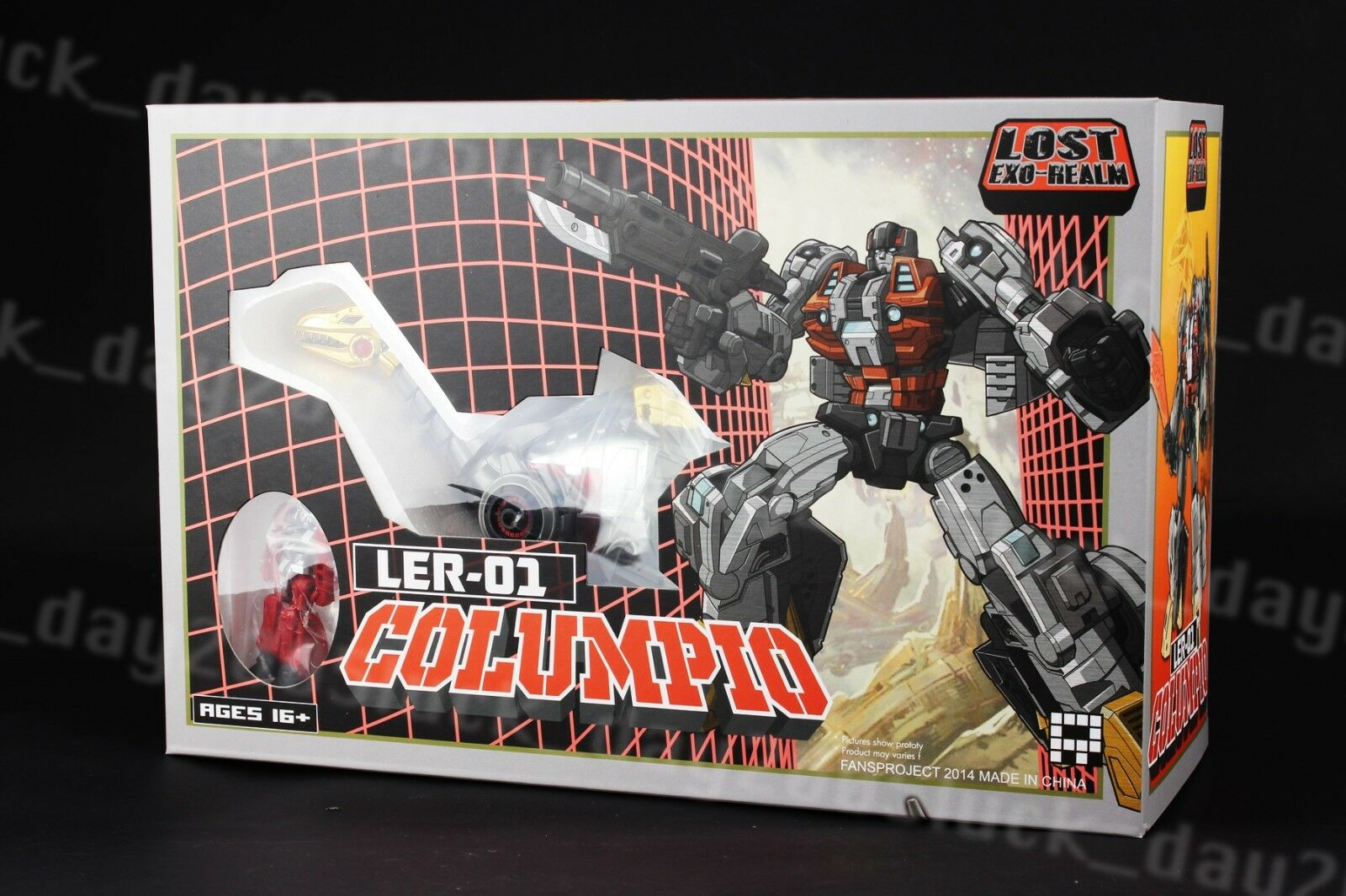 Fansproject Transformers Lost Exo-Realm LER-01 LER-01 LER-01 Columpio Dinobot Action Figure 2adf70