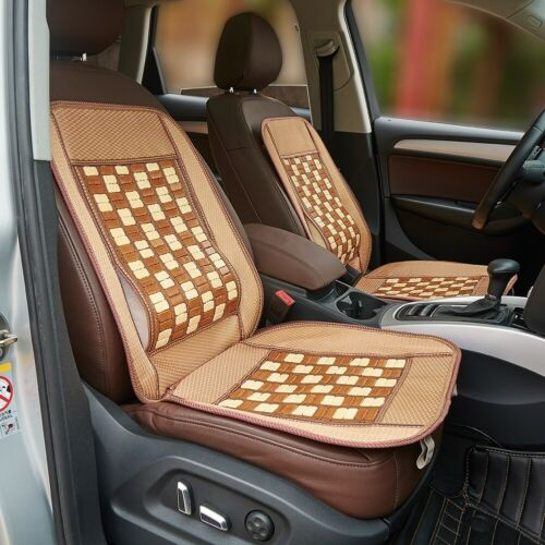105*48CM Bamboo Back Support Waist Massage Car Office Chair Seat Cover Cushion