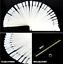 Polish-Palette-Nail-50x-False-Nail-Tips-Art-Practice-Fan-Color-Sticker-Display miniature 3