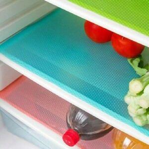 4pcs-Set-Refrigerateur-Coussinet-Tapis-Antibacterien-Antisalissure-Moissisure