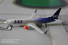 Phoenix Models Scandinavian SAS Boeing 737-800W Anniversary Color Model 1:400