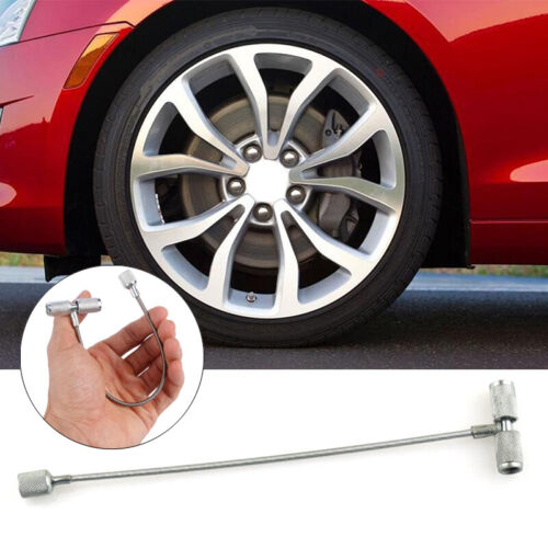 """HD Tire Valve Stem /& Core Install Tool Cable Fishing Type Puller 8/"""""""