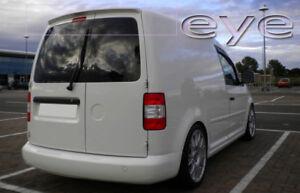 VW VOLKSWAGEN CADDY 2K FROM 2003 1 DOOR REAR ROOF SPOILER NEW!!