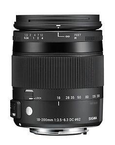 Sigma-18-200-mm-F3-5-6-3-DC-Makro-OS-HSM-C-Objektiv-fuer-Nikon